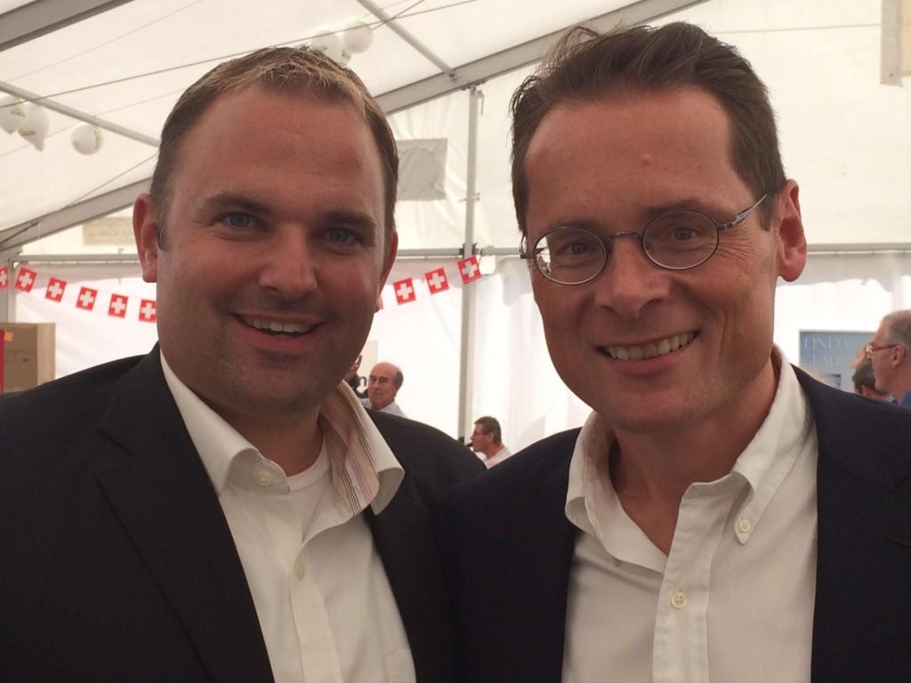 Marcel Dettling und Roger Köppel
